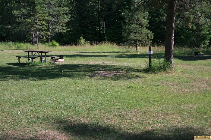 Beauty Creek Campground sites