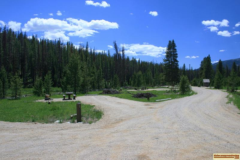View of Beaver Creek Campground, it was new in 2010.