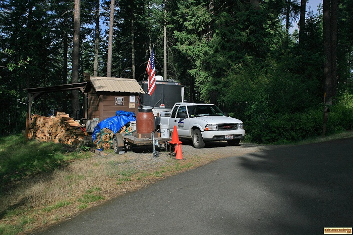 Bells Bay Campground on Lake Coeur d'Alene.