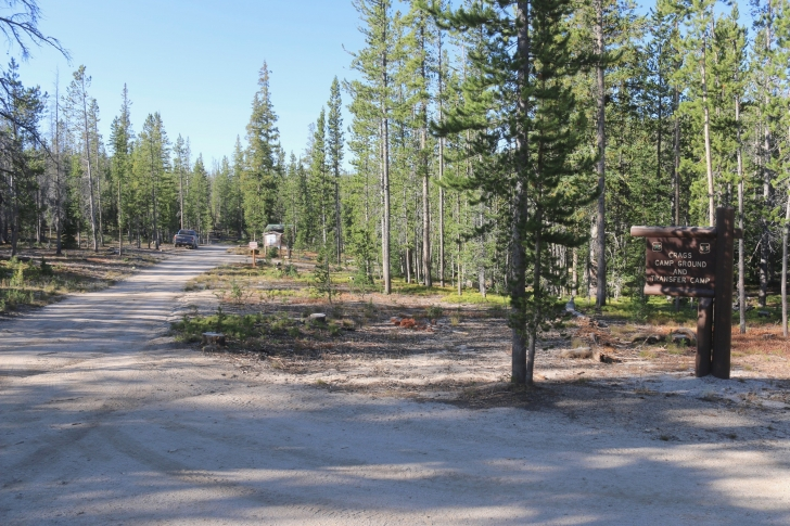 Crags Campground and Transfer Camp