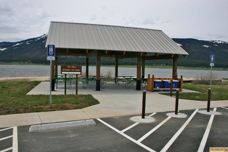 Big Sage Campground has a nice group shelter which can be reserved for your activity.