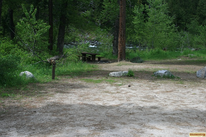 Bird Creek Campground  camping, Campsite 1.