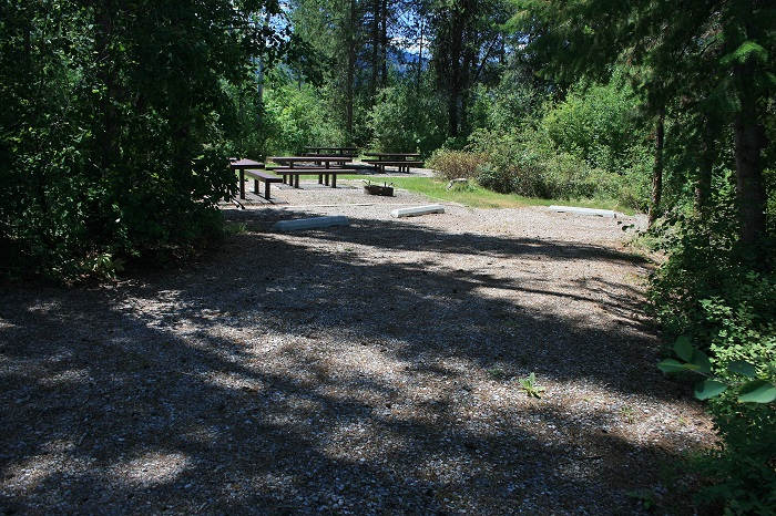 Blowout Campground on Palisades Reservoir