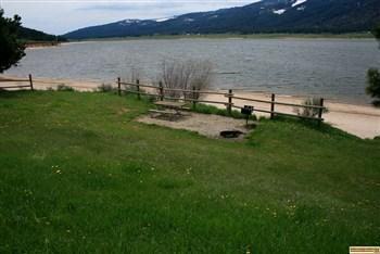 Blue Heron Campground is part of Lake Cascade State Park.