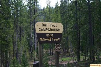 Bull Trout Campground Camping Fishing Several Small Lakes
