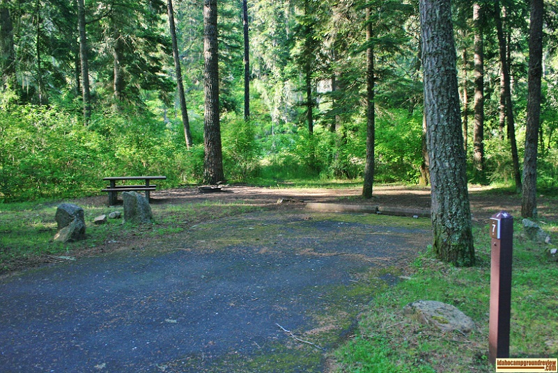 Castle Creek Campground.
