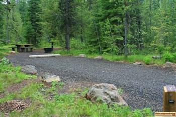 Cold Springs Campground near Lost Lake
