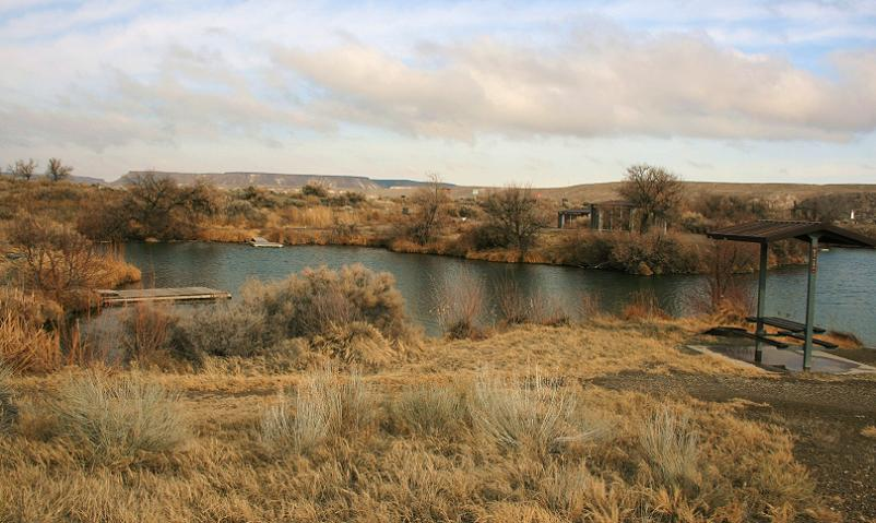 picture of cove and camp sties in cove recreation site campground near bruneau idaho