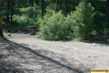 Picture of Camp site #2 at Dagger Falls Campground.