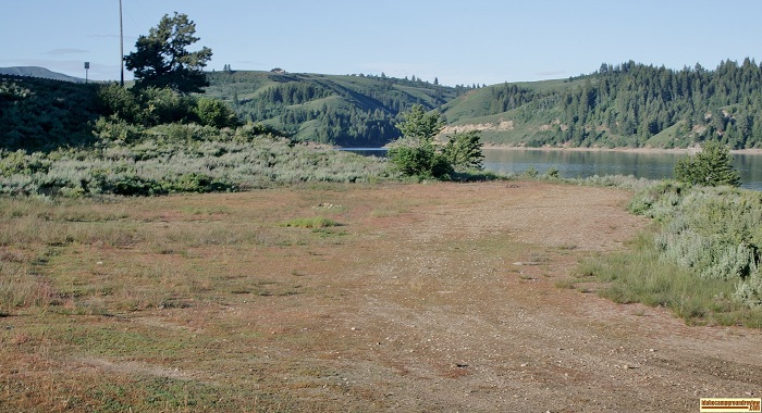 Deer Creek Recreation Site camping area, for those who love camping in Idaho.