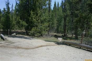 edna creek campground site