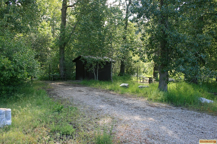 Elks Flat Campground Review, camping at site 1