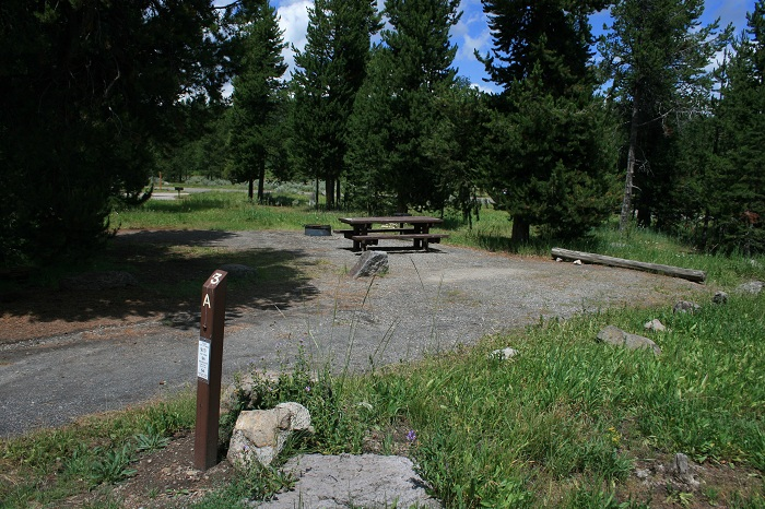Flatrock Campground near Island Park, Idaho.