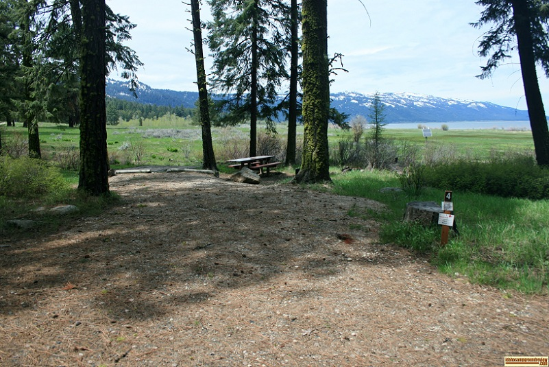 French Creek Campground on Cascade Lake.
