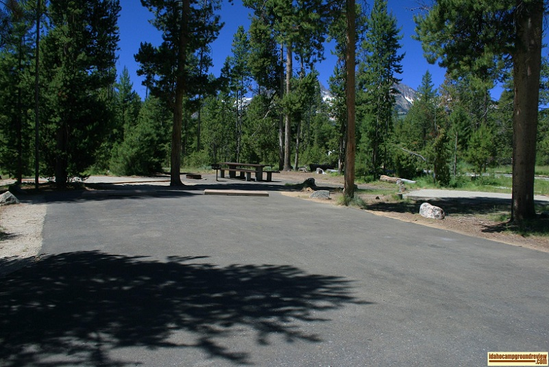 Glacierview Campground - Redfish Lake