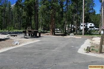 Redfish Lake Area Campgrounds Camping Sawooths