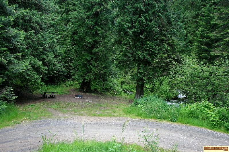 Glover Campground camping site