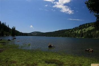 picture of goose lake northwest of mccall, idaho