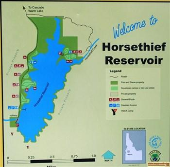 Horsethief Reservoir Campgrounds   Camping, Fishing At ...