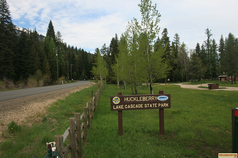 Huckleberry Campground on Lake Cascade.