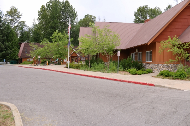 The visitors center is where you check-in and where you will find information about the campground and recreation opportunities in the area.