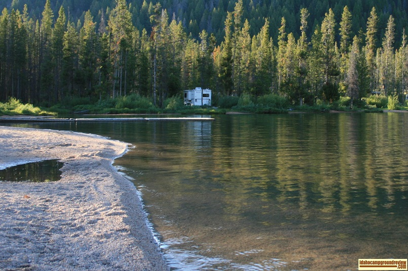 Inlet Campground on Stanley Lake
