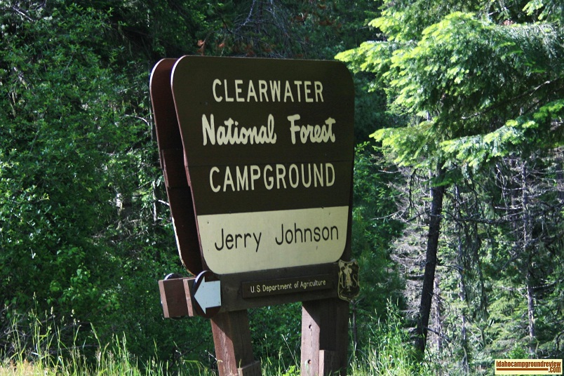 Jerry Johnson Campground on the Lochsa River
