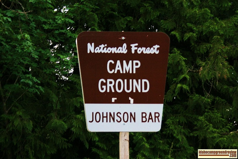 Johnson Bar Campgorund on the Selway River