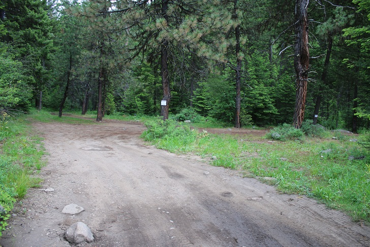 There are some very nice primative campsites along the creek near the campground.