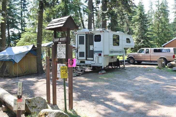 Lionhead Campground review, part of Preist Lake State Park - Facilities.