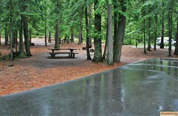 Luby Bay Campground on Priest Lake
