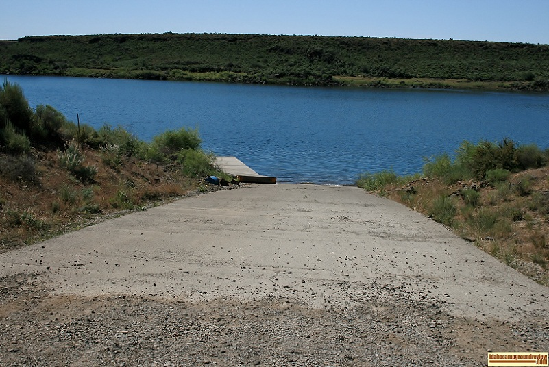 Moonstone Access boat ramp on the Magic Reservoir.