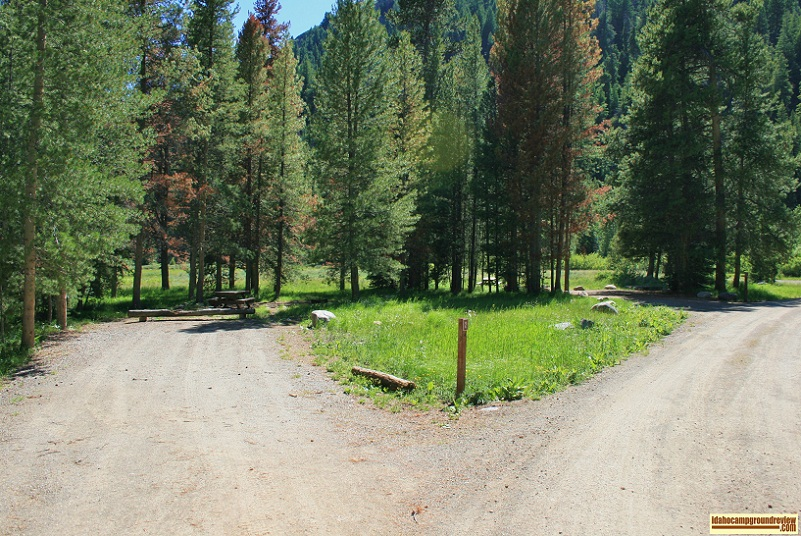 A view of Murdock Campground