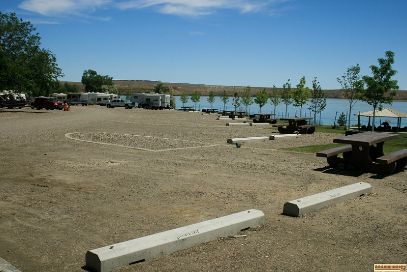 New campsites in north park campground