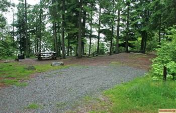 Osprey Campground on Priest Lake