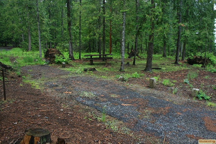 Outlet Campground on Priest Lake