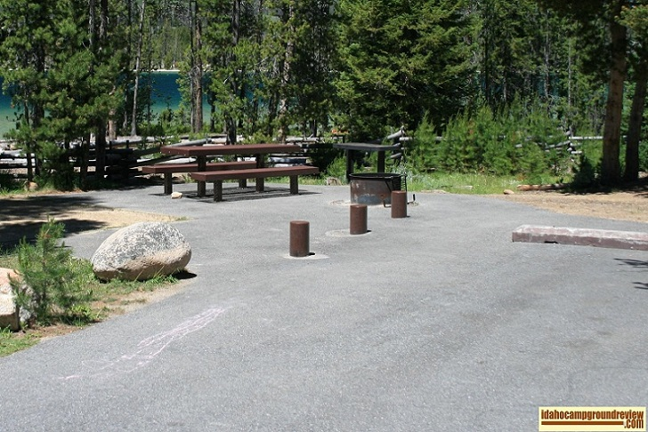 Outlet Campground on Redfish Lake