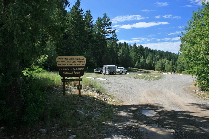 Palisades Creek Campground & Trailhead