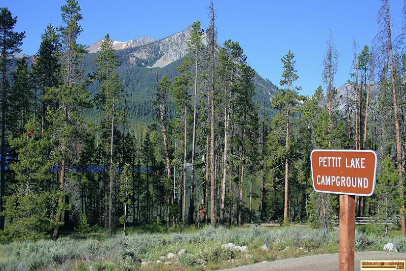 Pettit Lake Campground