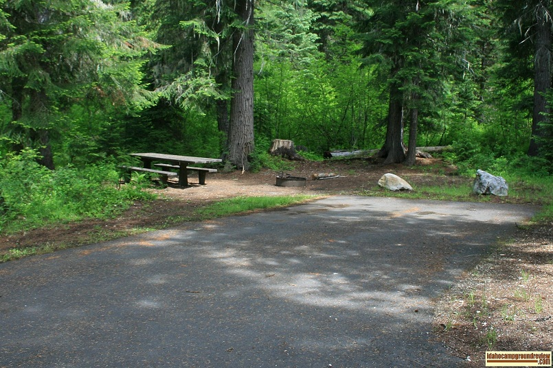 Powell Campground Campsites Images And Descriptions