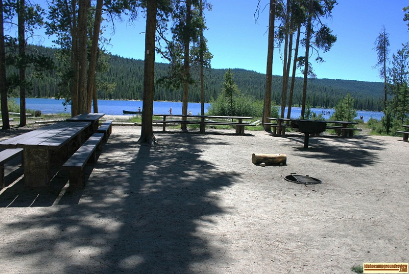North Shore has picnic sites A, B and C and this is site A. 