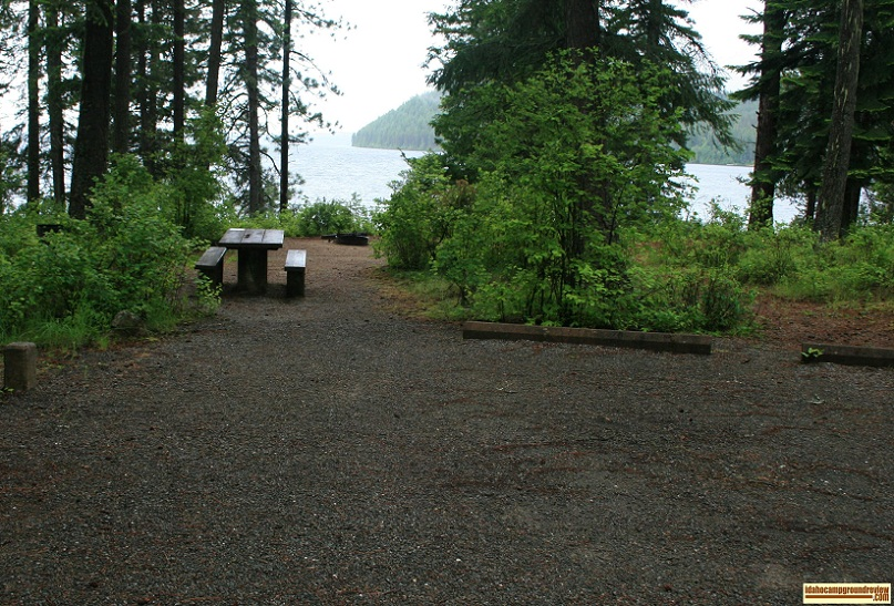 Reeder Bay Campground on Priest Lake