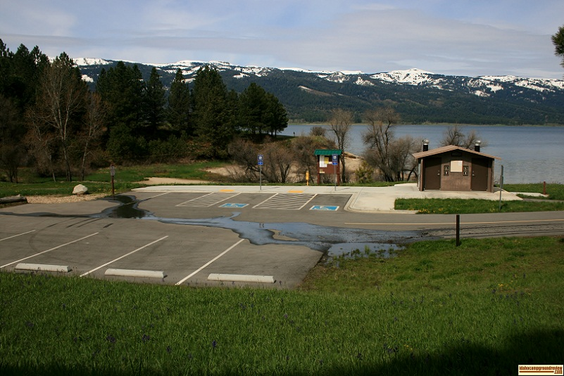 Ridgeview Campground, part of Lake Cascade State Park.