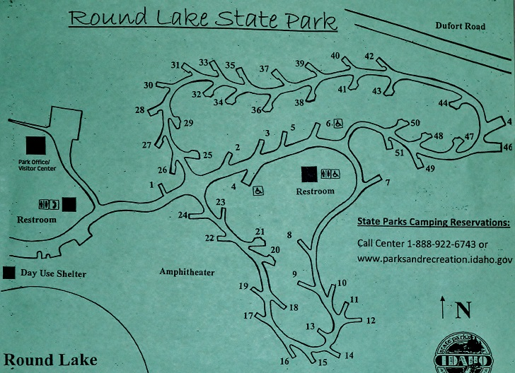 Round Lake State Park Campsites Images And Descriptions