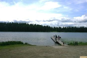 Shepherd Lake Access boat ramp