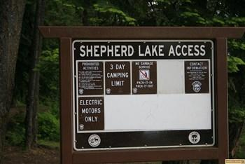 Shepherd Lake Access Area Campground