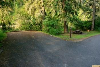 South Fork Campground on the Clearwater River.