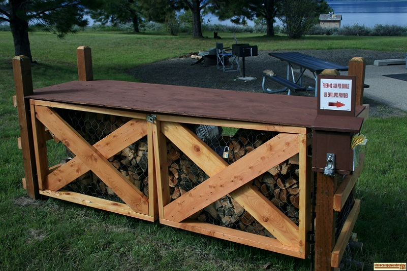 Firewood is available in Sugarloaf Campground.