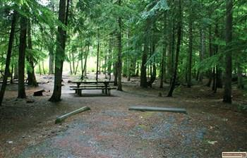 Upper Luby Bay Campground on Priest Lake