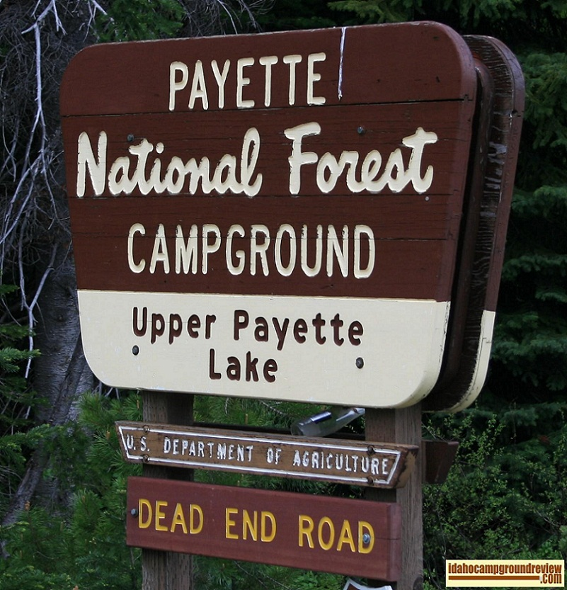 Upper Payette Lake Campground